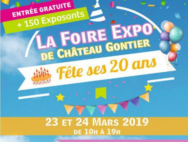 FOIRE EXPO CHATEAU-GONTIER