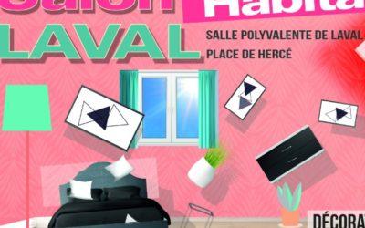 Salon Habitat et Déco à LAVAL – 9 au 11 octobre 2020