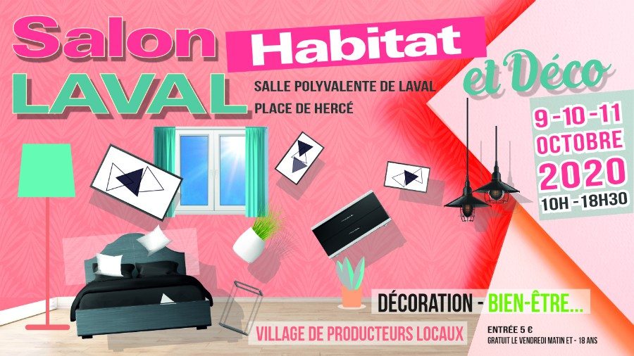 salon Habitat Laval octobre 2020