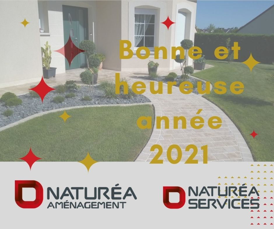voeux 2021 NATUREA AMENAGEMENT et AMENAGEMENT SERVICES